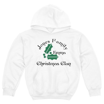 Christmas Clan Youth Gildan Heavy Blend Hoodie