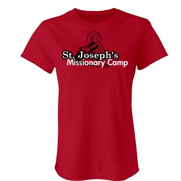 St. Joseph Missionary Junior Fit Bella Crewneck Jersey Tee