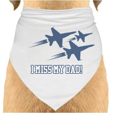 Air Force Dog Bandana Dog Bandana