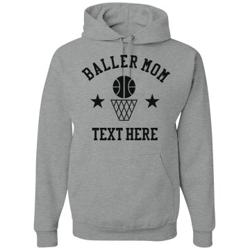 Team Number Sports Hoodie Junior Fit Bella Fleece Raglan Zip Hoodie