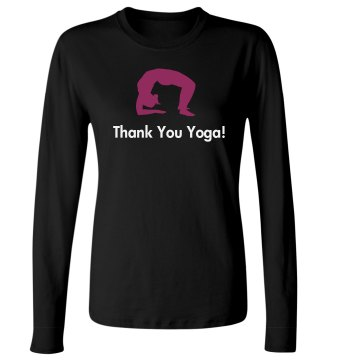 Appreciation for Yoga Junior Fit Bella Long Sleeve Crewneck Jersey Tee