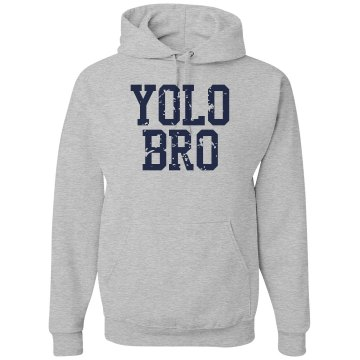 YOLO Bro Unisex Gildan Heavy Blend Hoodie