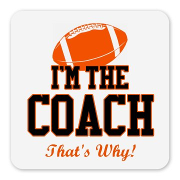 Coach Magnet Square Magnet