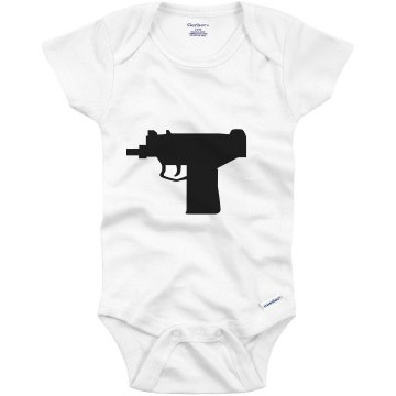 Uzi Infant Gerber Onesies