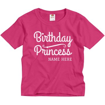 Birthday Queen Youth Gildan Ultra Cotton Crew Neck Tee