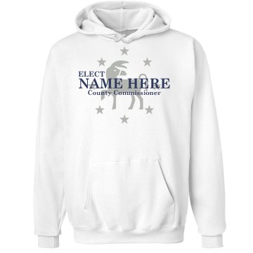 County Commish Template Unisex Hanes Ultimate Cotton Heavyweight Hoodie