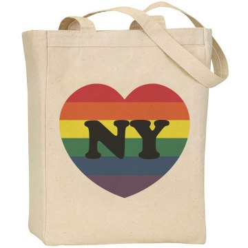NY Gay Marriage Bag Liberty Bags Canvas Tote