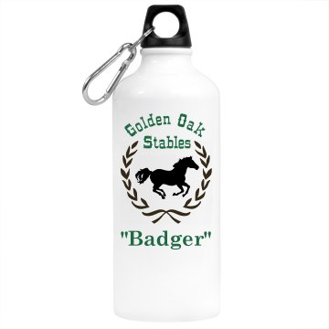 Horse Riding Water Bottle Aluminum Water Bottle