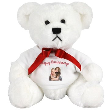 Happy Anniversary! Medium Plush Teddy Bear