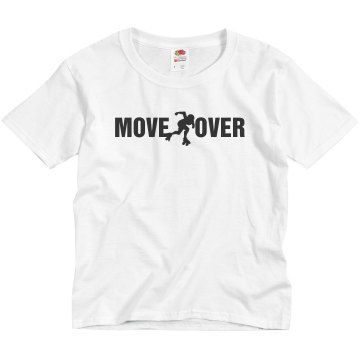 Move Over Derby Youth Bella Girl Sheer 2-in-1 Baby Jersey Tee