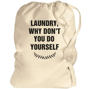 Y U NO Laundry Meme Port Authority Laundry Bag