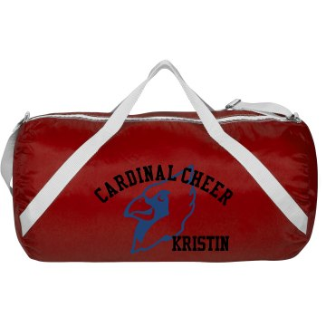 Cardinal Cheer Bag Augusta Sport Roll Bag