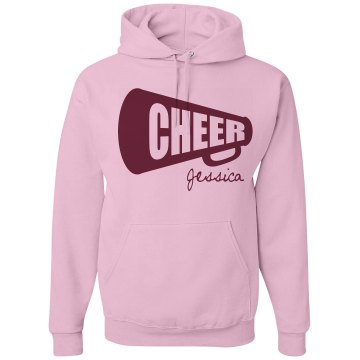 Cheer Hooded Sweatshirt Unisex Gildan Heavy Blend Hoodie
