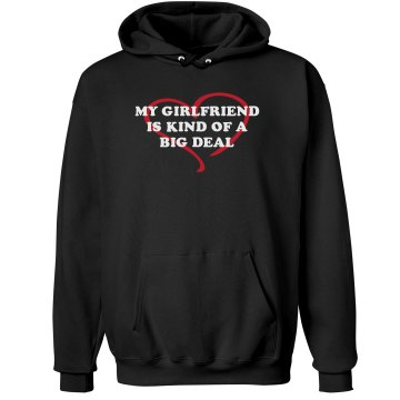 My Girlfriend Is... Unisex Hanes Ultimate Cotton Heavyweight Hoodie
