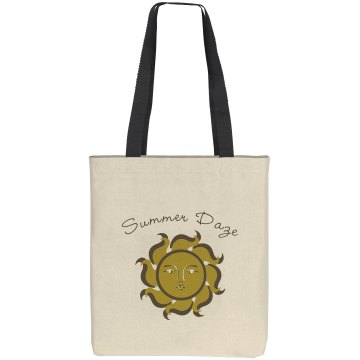 Summer Daze Liberty Bags Cotton Canvas Tote