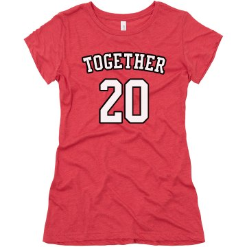 Together Tees Junior Fit Bella Triblend Tee