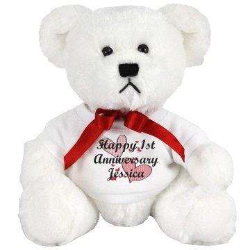 Anniversary Teddy Medium Plush Teddy Bear