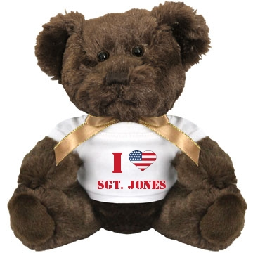patriotic teddy Small Plush Teddy Bear