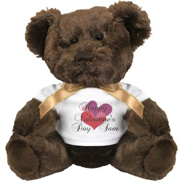 Valentine Teddy Bear Small Plush Teddy Bear