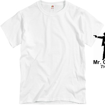 Mr. Groom Wedding Tee Unisex Basic Gildan Heavy Cotton Crew Neck Tee
