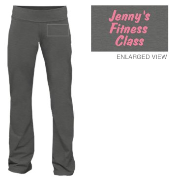 Fitness Class Pants Junior Fit Bella Fitness Pants