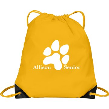 Seniors Port & Company Drawstring Cinch Bag