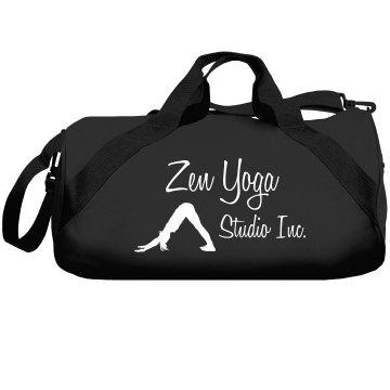 Zen Yoga Studio Augusta Sport Roll Bag