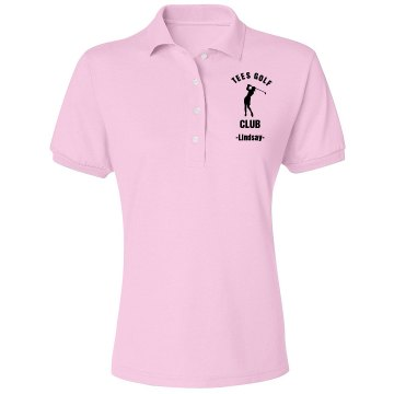 Golf Club Misses Relaxed Fit IZOD Silkwash Stretch Polo