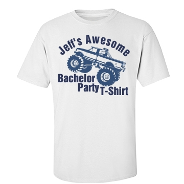 Bachelor Awesomeness Unisex Basic Port & Company Essential Tee