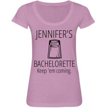 Bachelorette Martini Tee