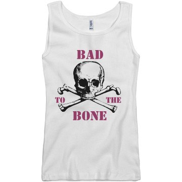 Bad To The Bone Skull