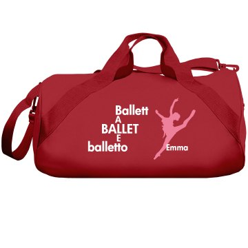 Ballet Liberty Bags Barrel Duffel Bag