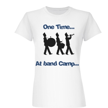 Band Camp Tee Junior Fit Basic Bella Favorite Tee