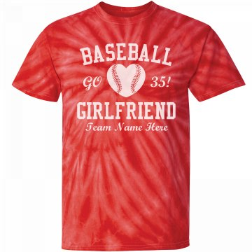 Baseball Girlfriend Heart