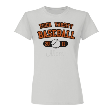 Baseball Mom Junior Fit Basic Bella Favorite Tee