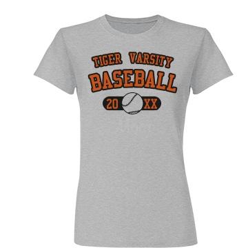 Baseball Mom Junior Fit Basic Tulte