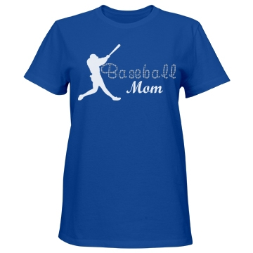 Baseball Mom Rhinestone