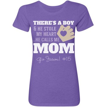 Baseball Mom's Heart