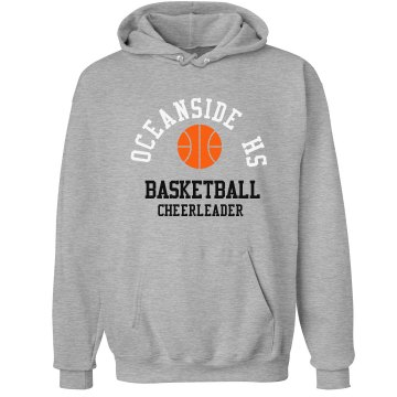 Basketball Cheerleading Unisex Hanes Ultimate Cotton Heavyweight Hoodie