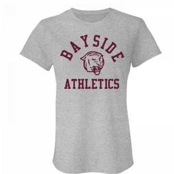 Bayside Athletics Junior Fit Bella Favorite Tee