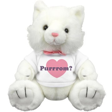 Prom Kitty Plush Kitty Cat