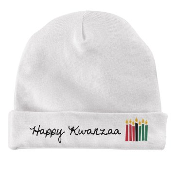Kwanzaa Baby Hat Infant American Apparel Baby Hat