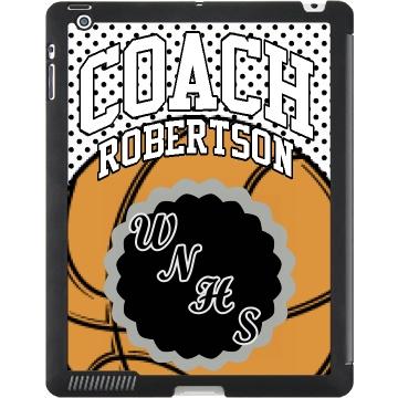 B-Ball Coach iPad Case