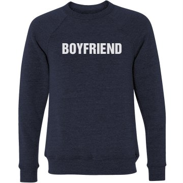 Boyfriend Sweatshirt Unisex Canvas Triblend Crew