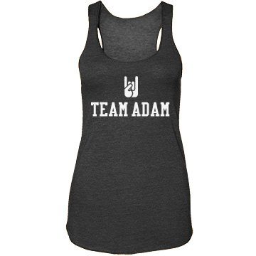 Team Adam Junior Fit Bella Sheer Longer Length Rib Strap Tank Top