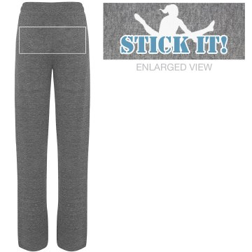 Stick it! Sweatpants Junior Fit Bella Straight Leg Fleece Sweatpant