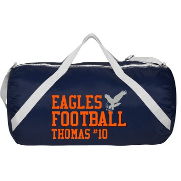 Eagles Football Champion Mesh Gear Bag