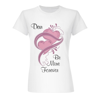 Be Mine Forever Junior Fit Basic Bella Favorite Tee