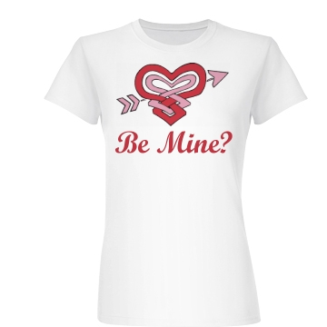 Be Mine? Junior Fit Basic Bella Favorite Tee