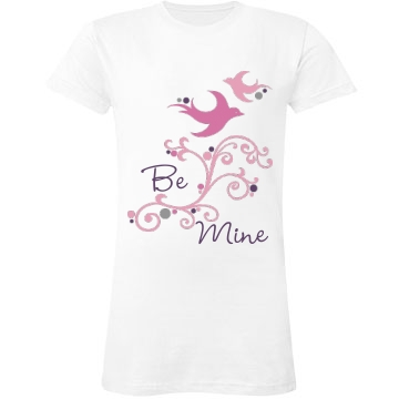 Be Mine Junior Fit LA T Fine Jersey Tee